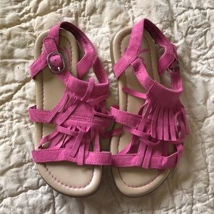 Pink moccasin Sandals, Size 13